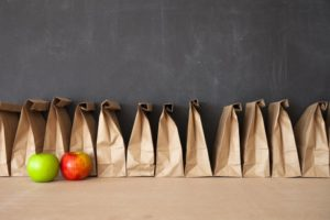 school lunches in bags